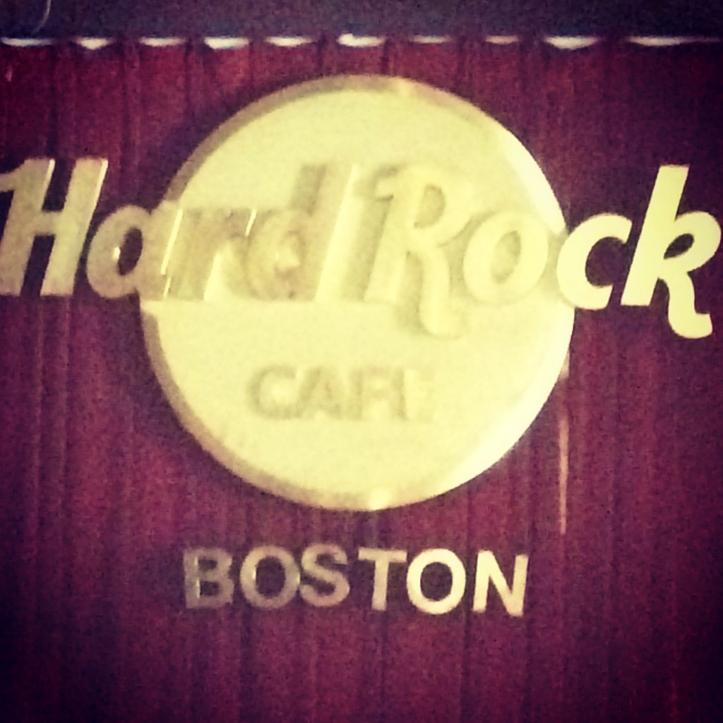 Hard Rock Cafe Boston 2014