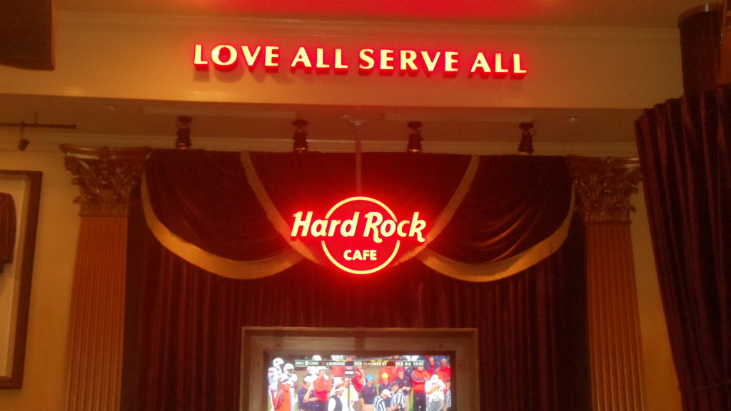 Hard Rock Cafe Philadelphia 2014