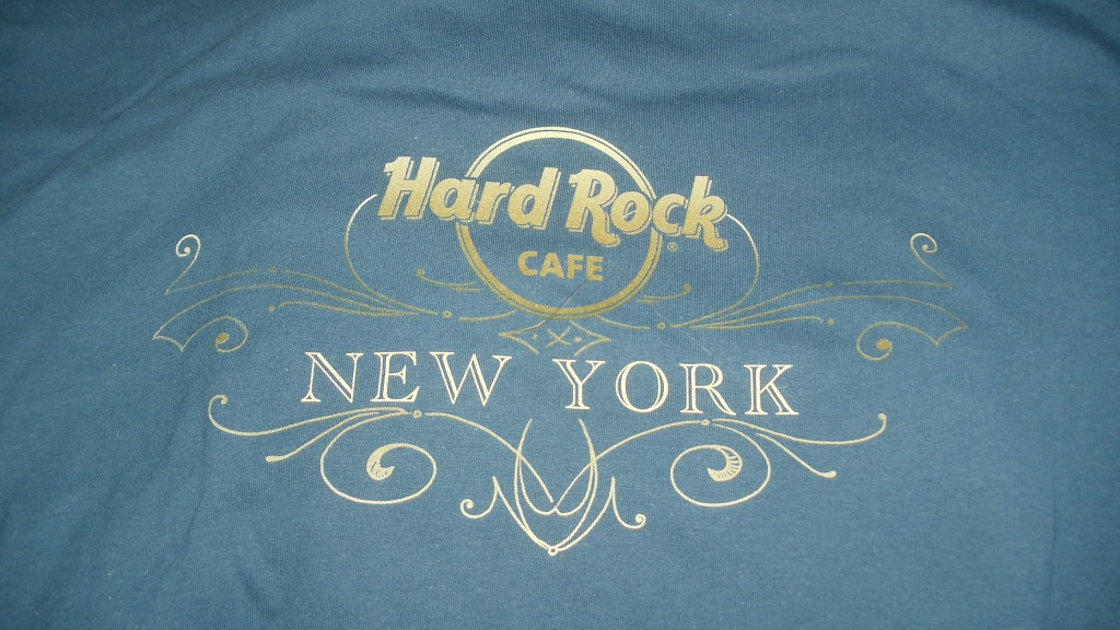 Hard Rock Cafe New York 2014