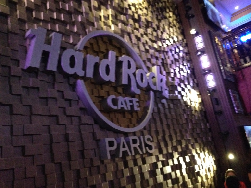 Hard Rock Cafe Paris 2015