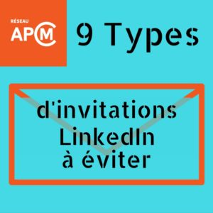 9 types invitation à éviter