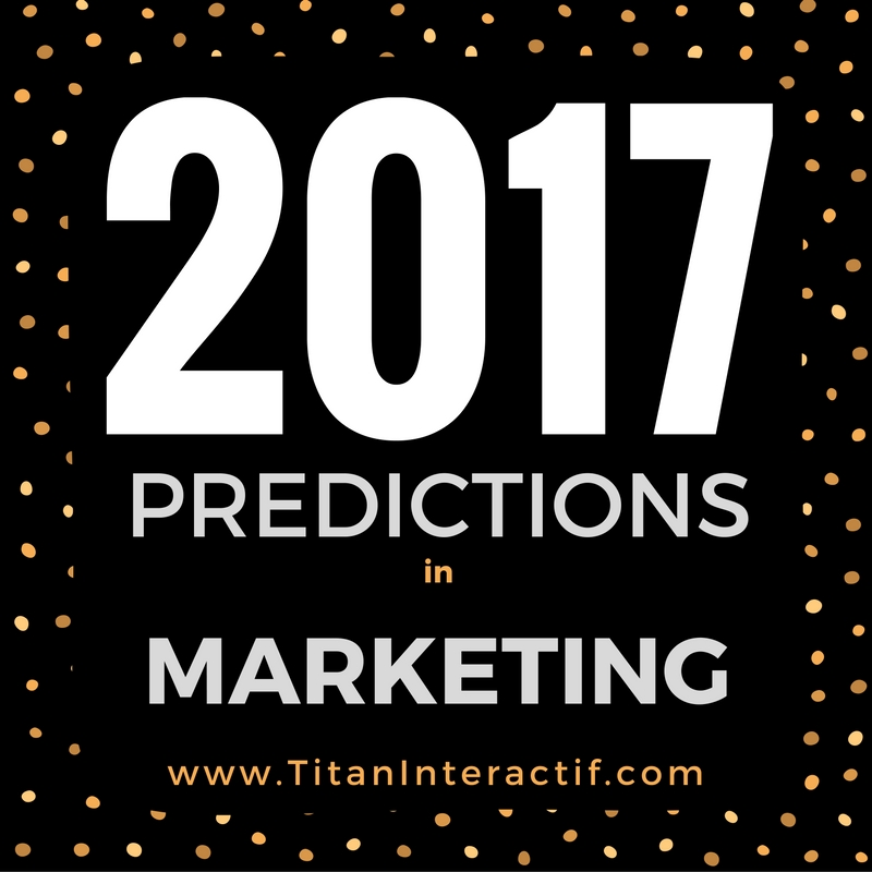 2017 Marketing Predictions