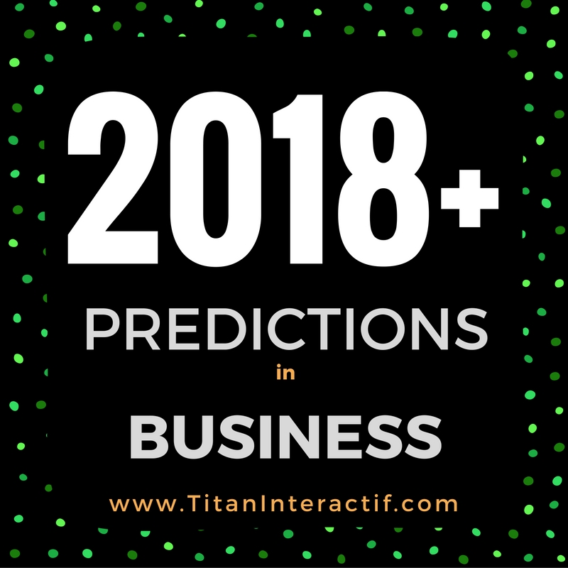 Business in 2018 & Beyond