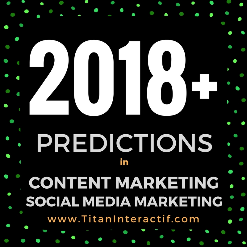 Content & Social Media Marketing in 2018 & Beyond