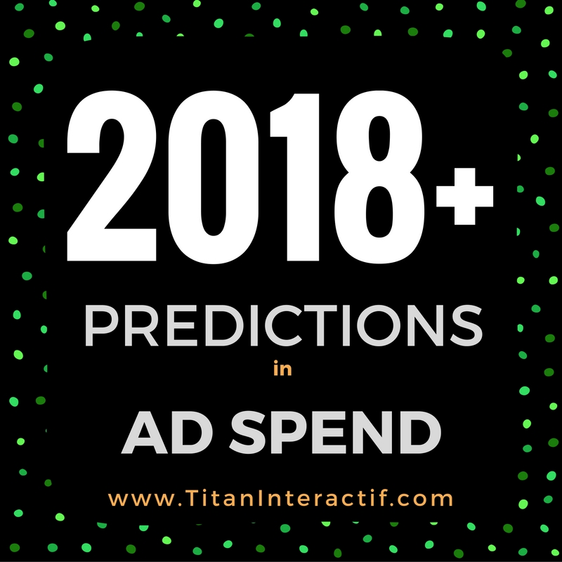 Ad Spend in 2018 & beyond