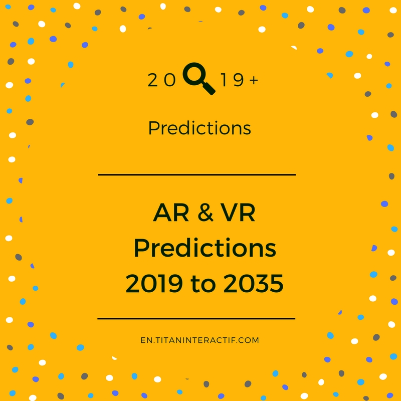 AR & VR Predictions for 2019