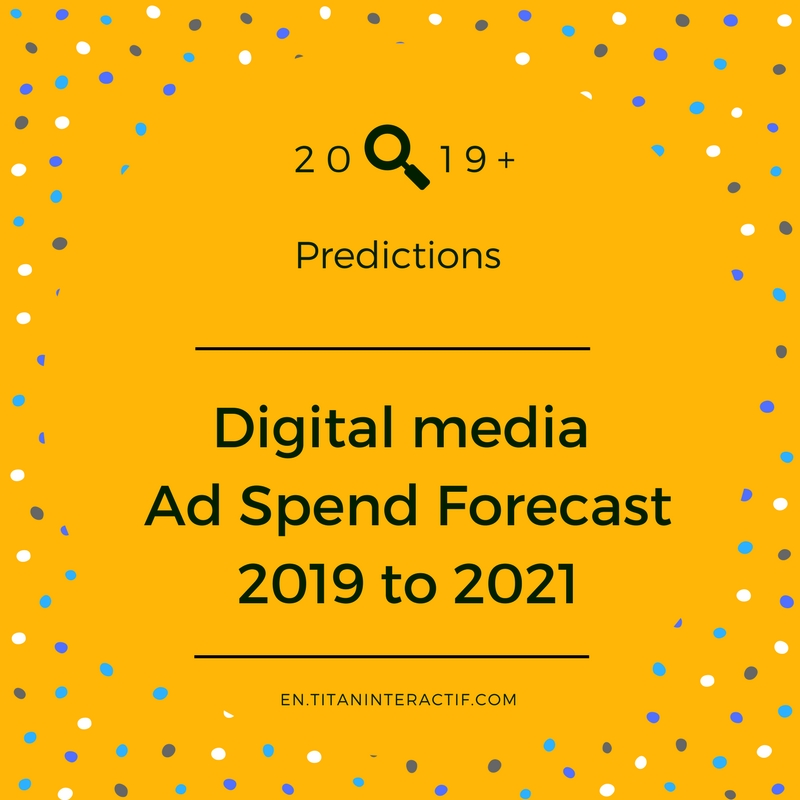 2019 Digital Media Ad Spend Forecast
