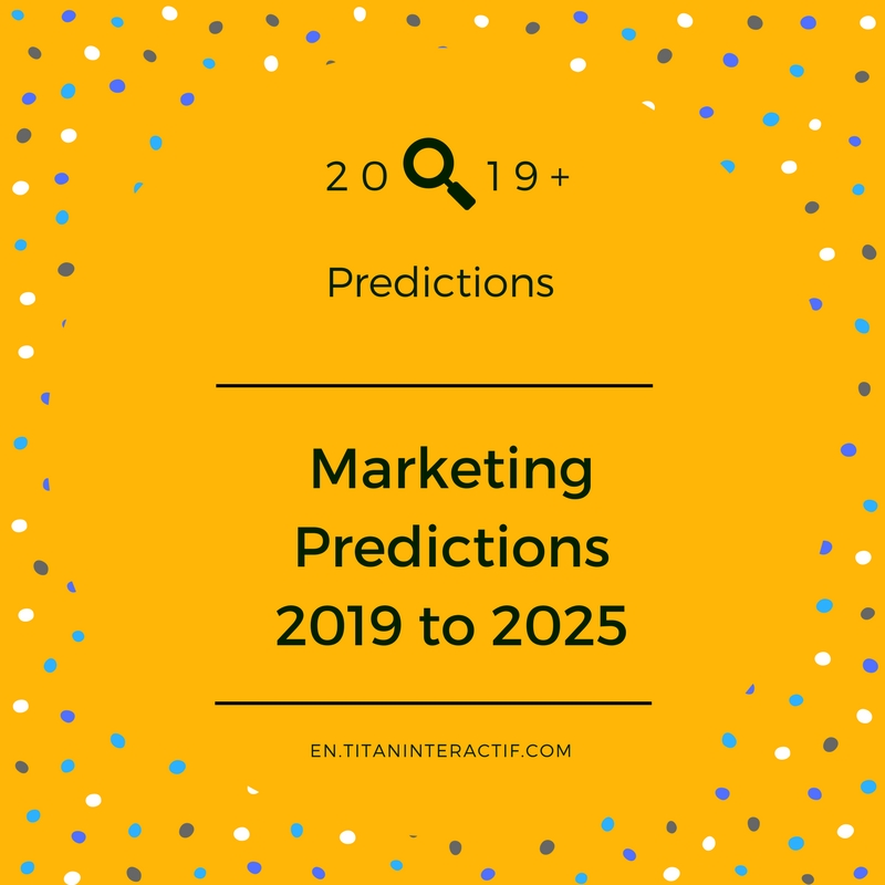 Marketing Predictions for 2019 & Beyond