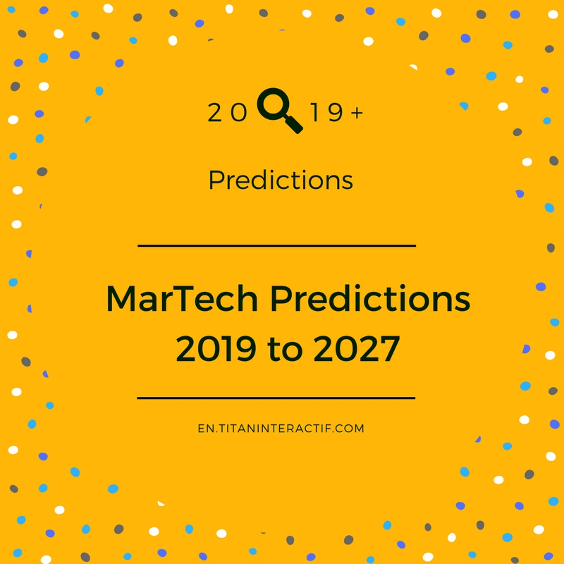 2019 MarTech predictions