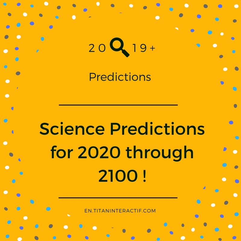 2019 Science Predictions, what are you expecting?