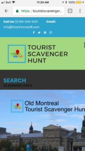Tourist Scavenger Hunt