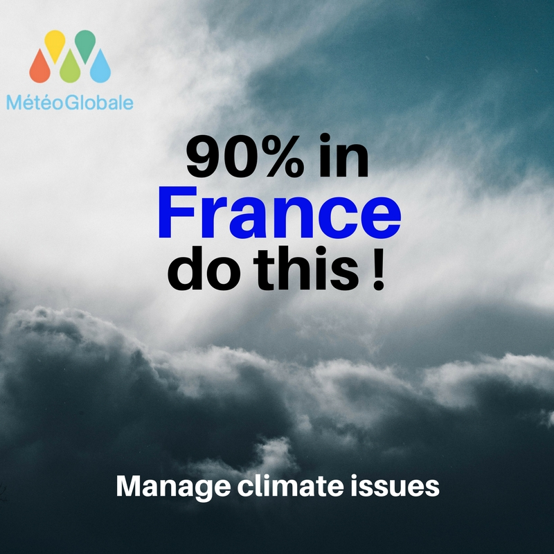France : 9 in 10 companies manage climate issues