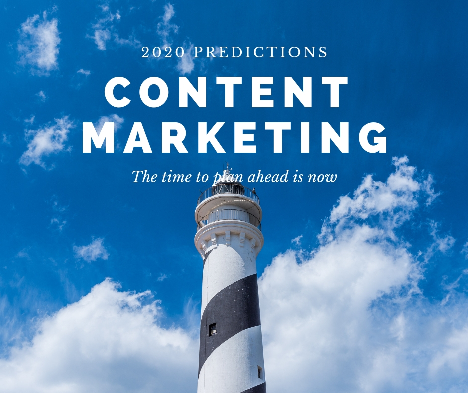 Content Marketing forecast for 2020 & Beyond