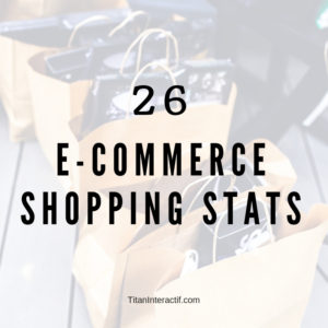26 ecommerce shopping stats
