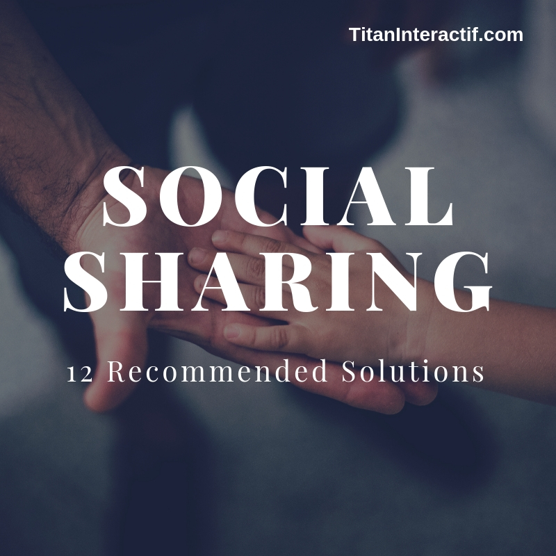 12 social sharing tech recommendations to save you time