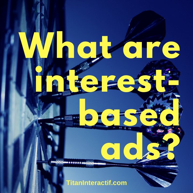 What are interest-based ads?