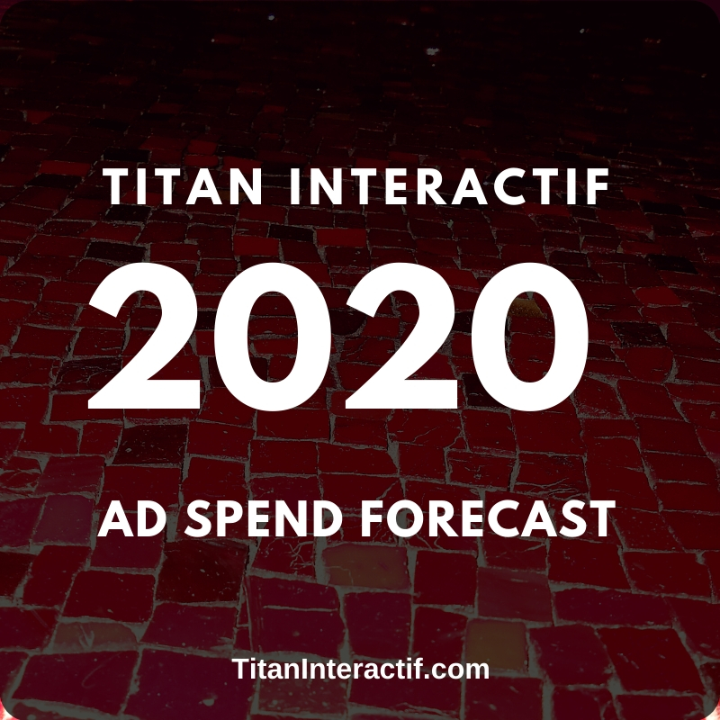2020 Ad Spend Forecast