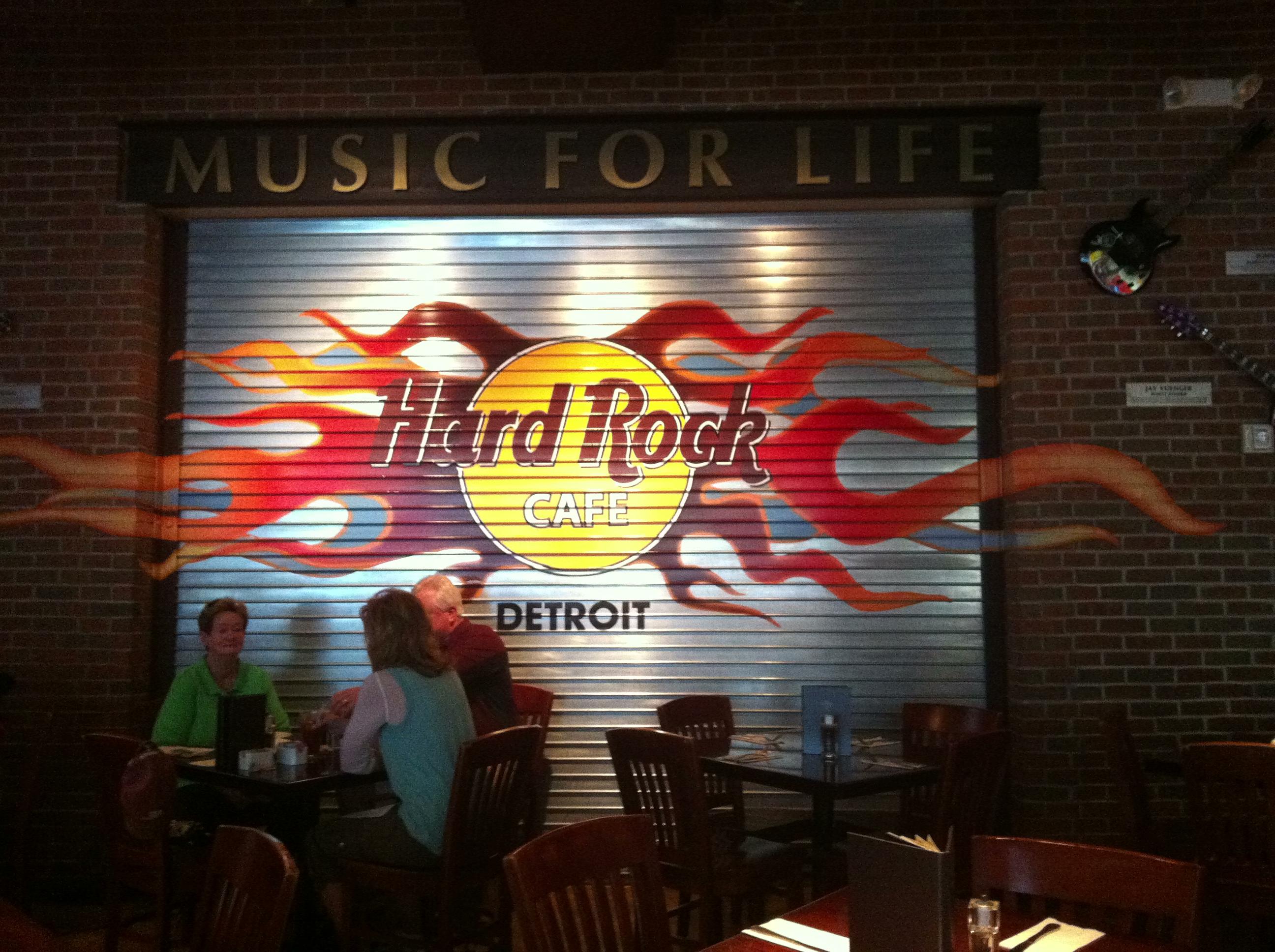 Hard Rock Cafe Detroit