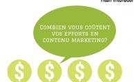 Combien coûte votre stratégie de contenus marketing?