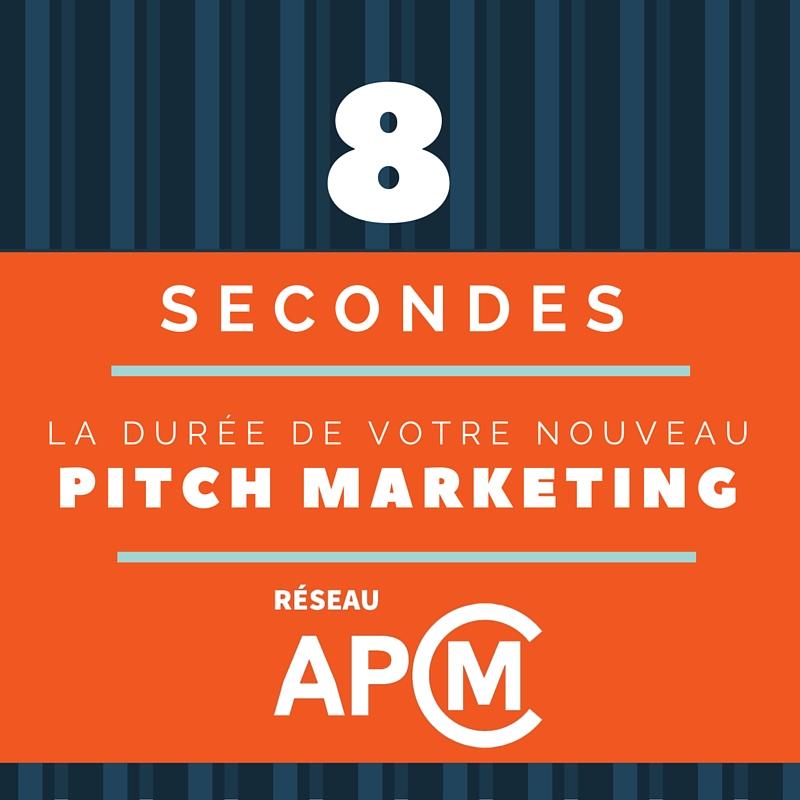 Quel est votre pitch de 8 secondes?