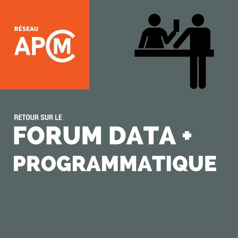 Retour sur le Forum Data et Programmatique d'Infopresse