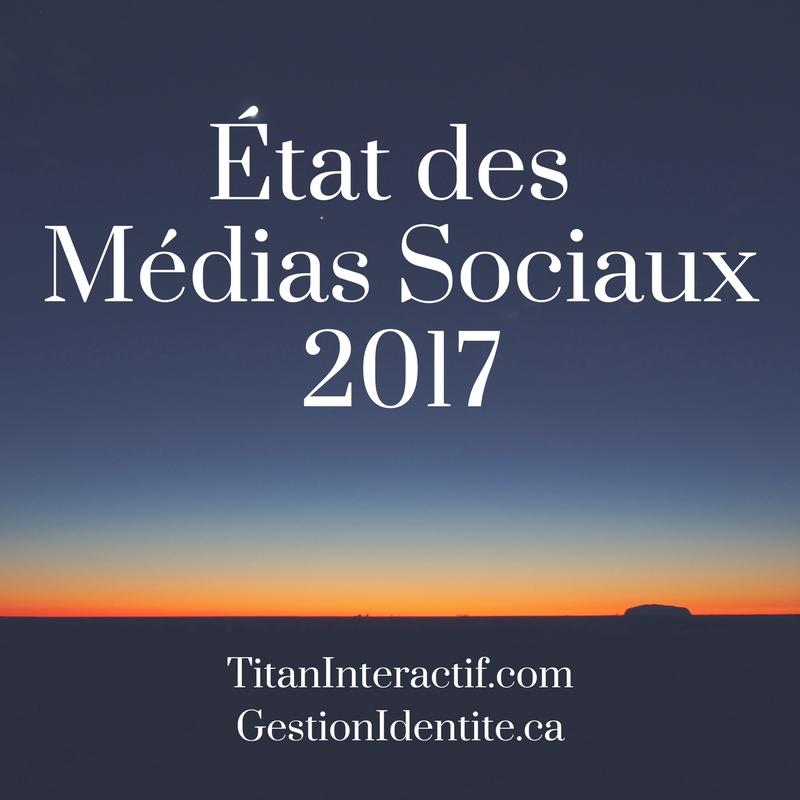 L'état des autres Médias Sociaux en 2017
