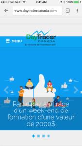 DayTraderCanada Mobile