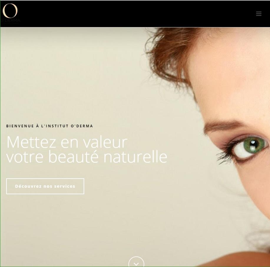 Site web Oderma.ca