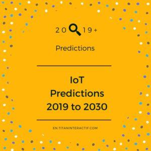 2019+ IoT predictions