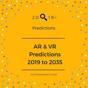 2019+ ar & vr predictions