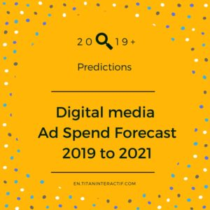 2019+ digital media ad spend forecast