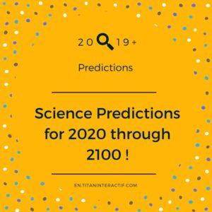 2019 science predictions