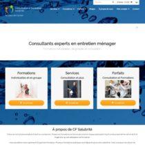 Site web CF Salubrité