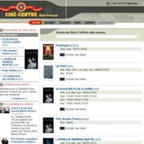 Site web Ciné-Centre
