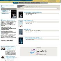 Site web Cinéma Chaplin