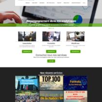 site web Titan Interactif