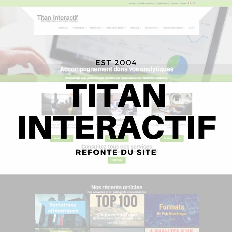 Titan Interactif s'offre une refonte pour son site internet