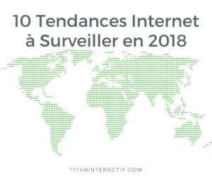 10 Tendances Internet à Surveiller en 2018