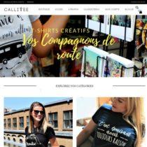 Site web Callitee