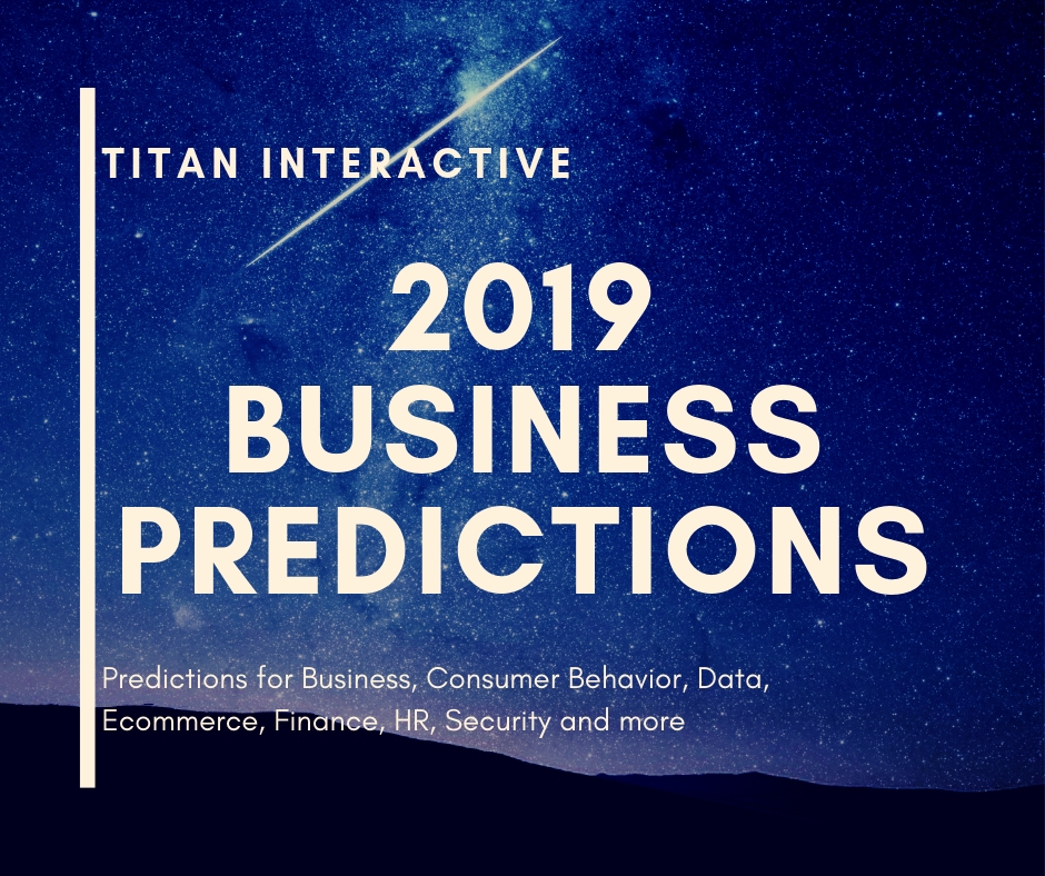 2019 Business Predictions – are you ready?
