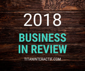 2018 business in review