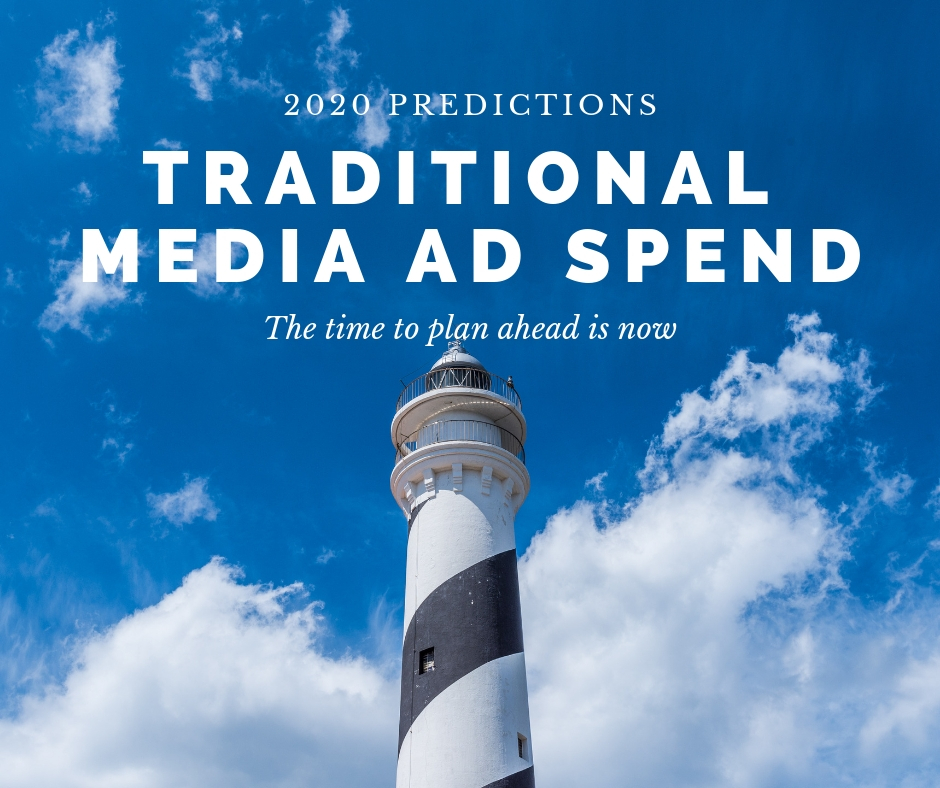 2020 Traditional Media Ad Spend Forecasts