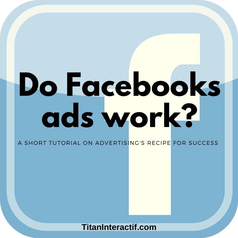 Do Facebook ads work?