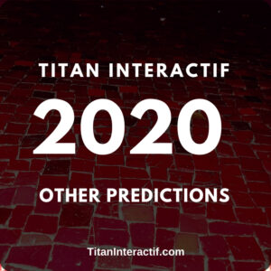 2020 other predictions