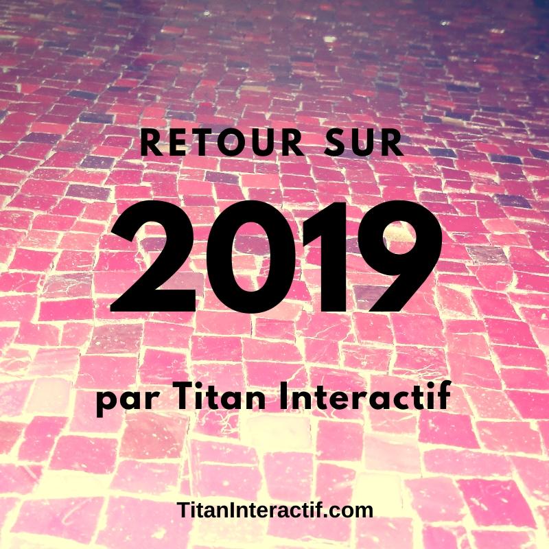 Revue de l'année 2019