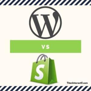 WordPress versus Shopify